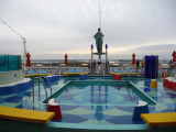 Sunset Pool on the Carnival Dream
