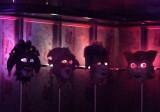 Venetian Masks in Comedy Club on Carnival Dream