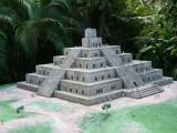 Miniature of Pyramid from Tajin, Veracruz (900-1100 A.D.)