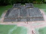 Miniature of Ruins found in Tajin, Veracruz (900-1100 A.D.)