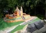 Miniature of the Church of Our Lady of Remedies (Cholula, Mexico)