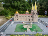 Miniature of the Rotunda of Distinguished Men & Degollado Theatre (Guadalajara)