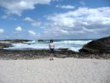 Susan at Punta Sur