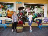 Brenda and Susan at Margaritaville, Cozumel