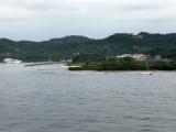 Arrival at Roatan Island, Honduras
