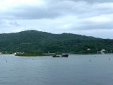 Shipwreck off Roatan Island