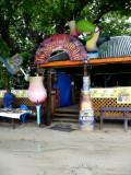 Bar in West End Village, Roatan