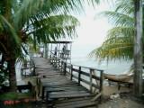 Dock in Roatan