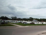 Belize Cemetery (Bodies Buried Only 3' Deep)