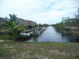 Arrival at Airboat Outpost, Belize