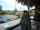 Dressed for the Airboat Adventure