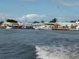 Leaving Port of Belize on a Tender