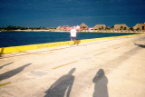 Dock in Costa Maya, Mexico
