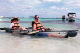 Ready for Clear Kayaking in Costa Maya, Mexico