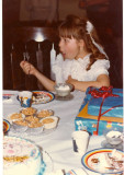 Birthday cake & ice cream, Yum!
