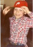 Wayne with his Phillies cap