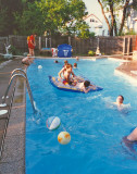 A typical summer afternoon in the 80's in the Kobylinski backyard