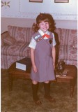 Girl Scouts in March of 1983