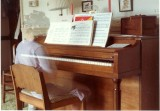 Ghost Erica at the piano
