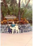 Rick & his evil minions at Disney World in November of 1982