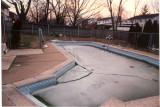Ice on the pool
