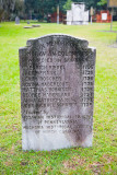 Headstone from the 1700's