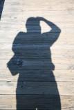 Self portrait in the boardwalk