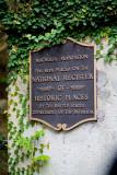Entrance to Magnolia Plantation in Charleston