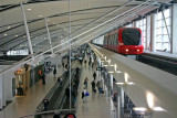 Tram at the Detroit Airport