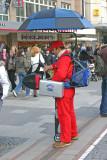 Sausage street vendor