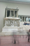 Pergamon Altar with ghosts