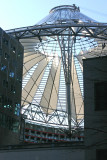 Sony Center Roof structure
