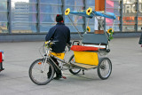 Pedal powered rickshaw