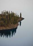 Island Crater Lake, Oregon - September, 2008