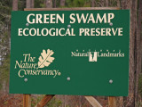 Green Swamp Sign