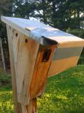 Wren guard installed - side view