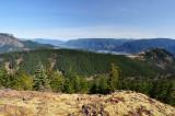 Facing east from Hardy Ridge