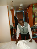 Cabin steward Christopher with his towel creation.jpg