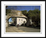 The old entrance arch....