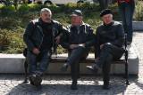 Three Gentelmen's on bench