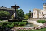 Fountain at university