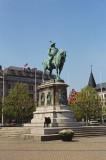 Malmö Stortorget - Monument of King Karl X Gustav