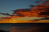 Amanecer en el Estrecho de Magallanes