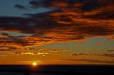 Amanecer en el Estrecho de Magallanes, Chile