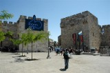 Jerusalem Street Market and  the Church of the Holy Sepulchre