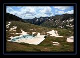Columbine Pass View - Columbine Lake
