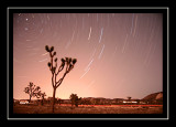 Polaris star trails