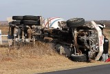 Pitts cement truck Rollover 11/21/07