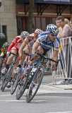 Sept. 8, 2008 - Cyclists in a row