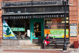 Zingerman's and the Woman with the Red Dress On